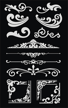 as ace high ornamental turn of the century style type face two font set also includes ace high deuce