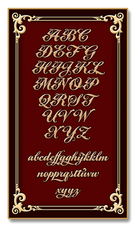 script font  a u0026s tuscano script  fonts for sign artist and